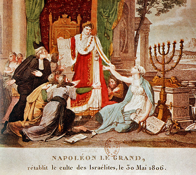 Napoleon Emanciptes the Jews